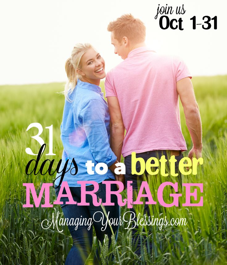 31 Days to a Better Marriage Series {2014} :: Come on a journey with 31 wives who are committed to living and learning h...