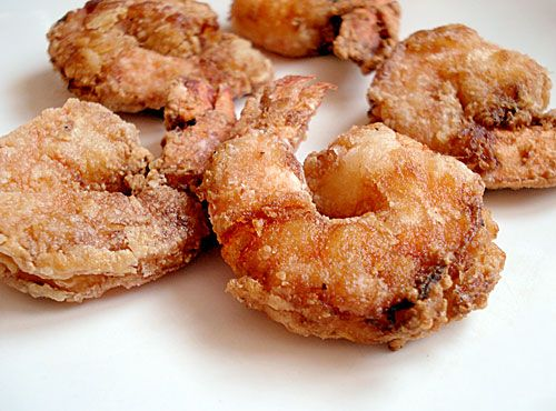 Shrimp Tatsutaage: Japanese Crispy Fried Shrimp (Bento staple)