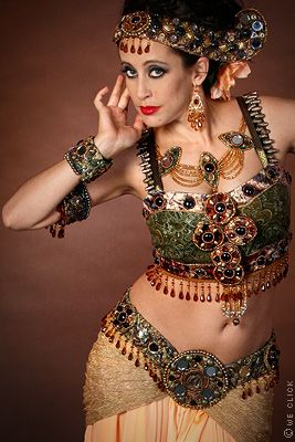 Sarah Skinner as Mata Hari