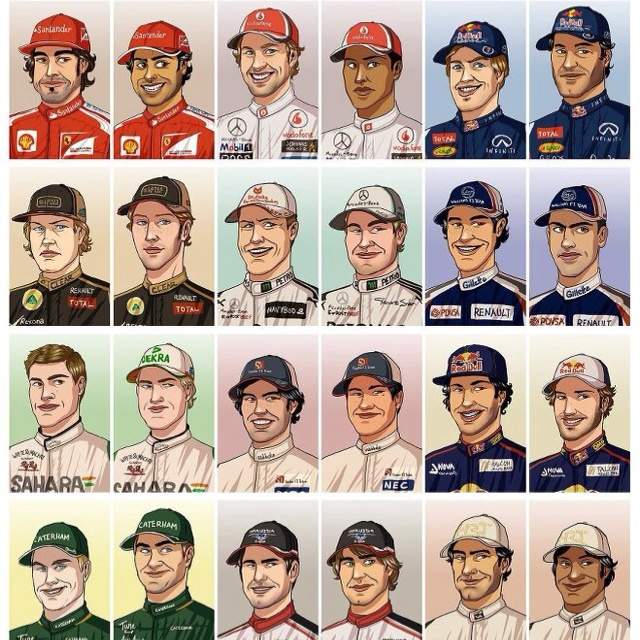formula 1 driver contracts 2014