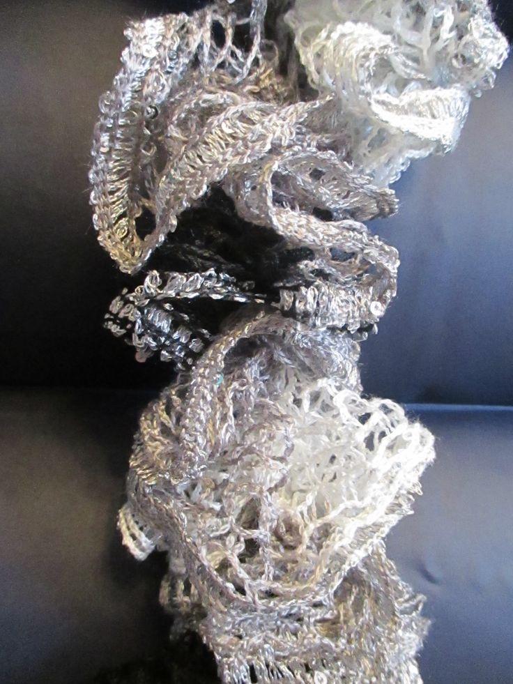 Sashay Yarn Crochet Scarf