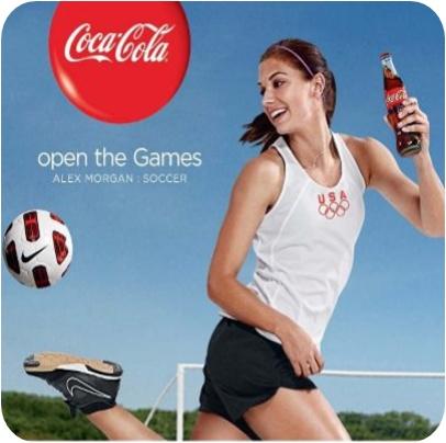 Coca cola celebrity spokespeople for charities