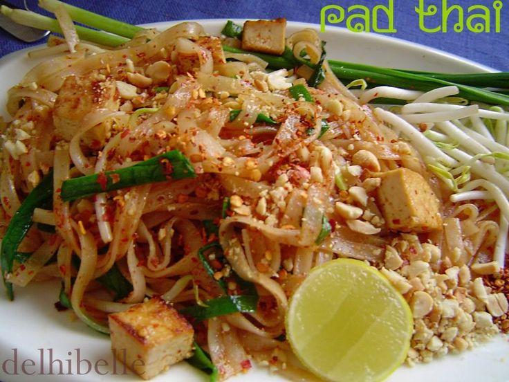 Delhi Belle: Vegetarian Pad Thai | A S I A N | Pinterest