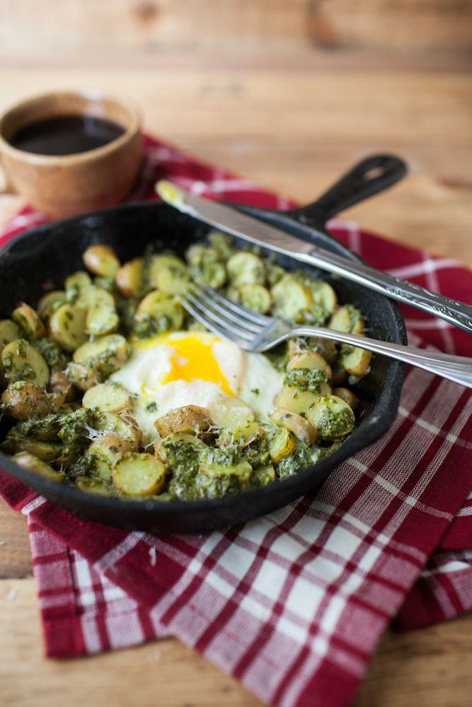 Pesto Potato Skillet | Recipe