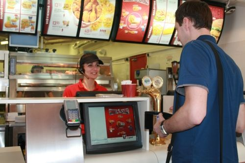 LCD ordering system at KFC  SPEISEKARTE-Digital.de  Pinterest