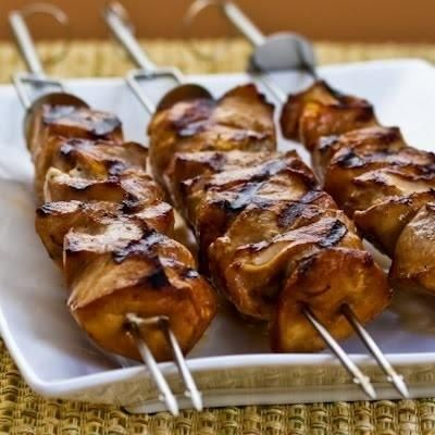 Chicken Recipe : Asian Chicken Kabobs | Food | Pinterest