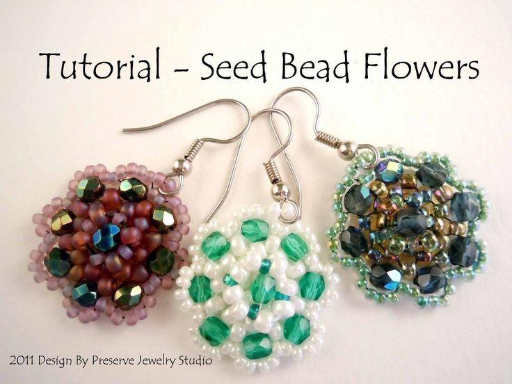 Seed Bead Flower Tutorial