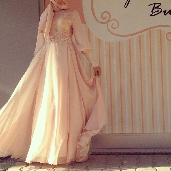 Wedding Dress Muslimah Simple : Formal muslimah dress beauty