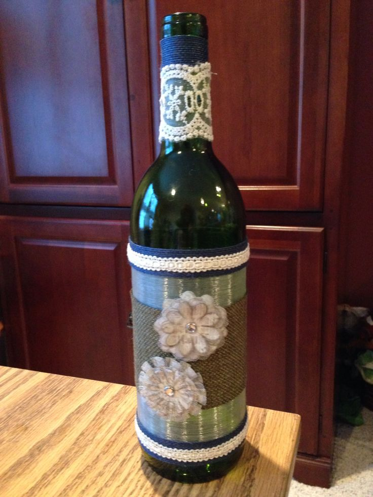 wine bottle crafts the crafts i have made pinterest