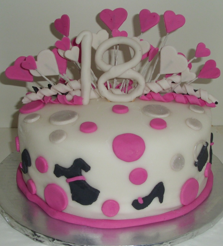 18th birthday cake cake decorating pinterest for 18th birthday cake decoration ideas