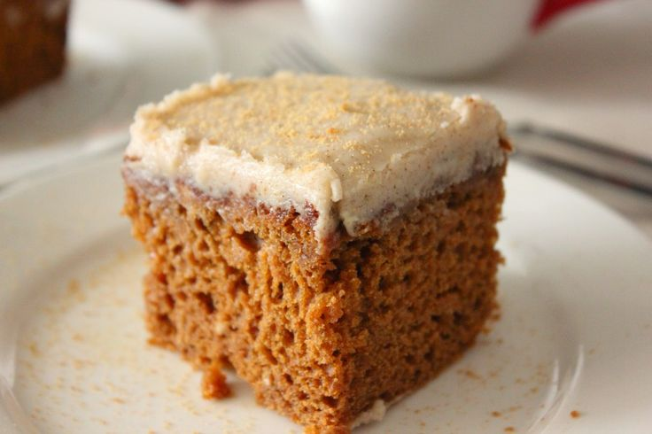 Gingerbread Snack Cake | Recipe