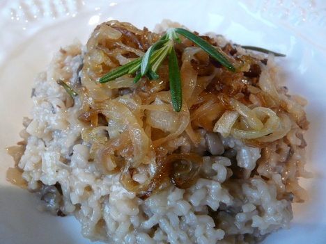 ... : Baked Mushroom Risotto with Caramelized Onions : TreeHugger