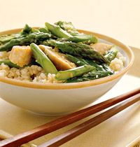 Chicken and Asparagus Stir-Fry | o goodness gimme Food | Pinterest