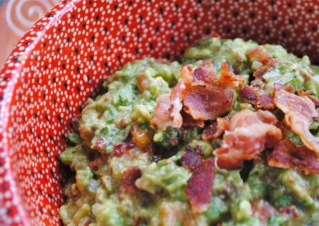 bacon and tomato guacamole | Bacon makes everything better | Pinterest