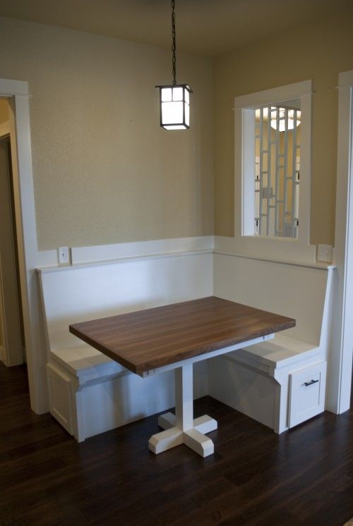 Breakfast nook room ideas pinterest - Kitchen corner nooks ...