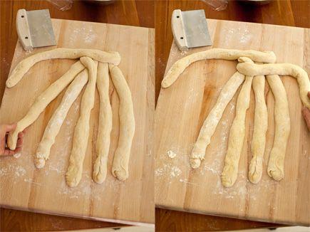 How-to: Six-Strand Braided Challah | BREAD/Breakfast Bread | Pinterest