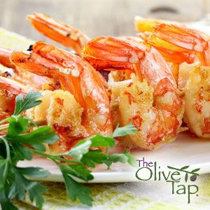 Grilled Sesame Shrimp Skewers with Pineapple Beurre Blanc - Recipe ...