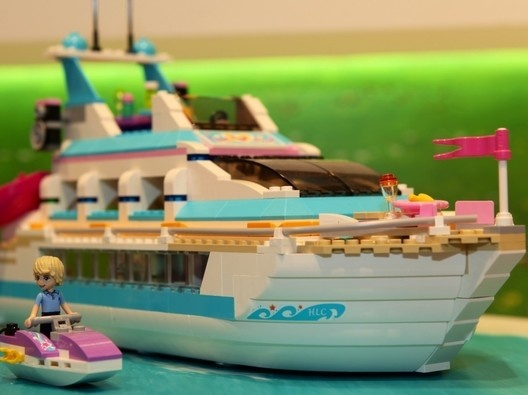 Lego Friends Dolphin Cruise Ship  Lego Friends  Pinterest