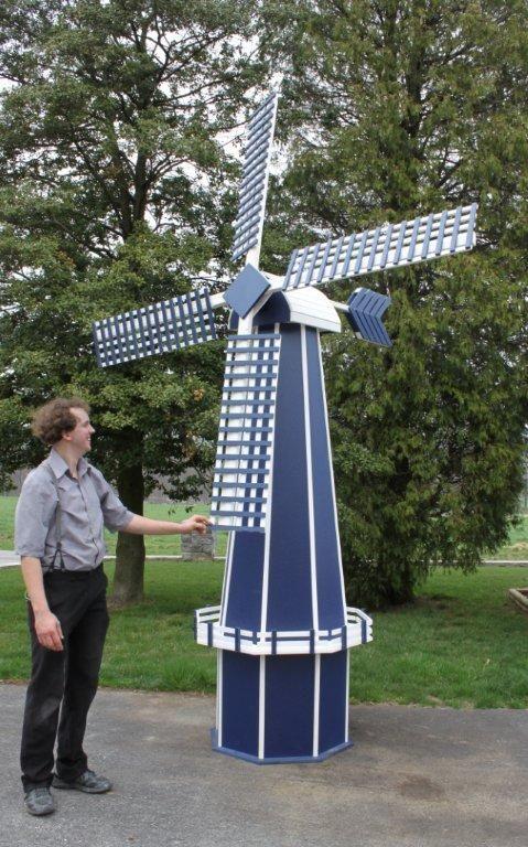 Beautiful Wooden Yard Windmills