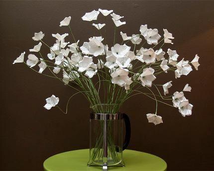 DIY Tutorial DIY Crepe Paper Flowers DIY Simple White Paper Flowers