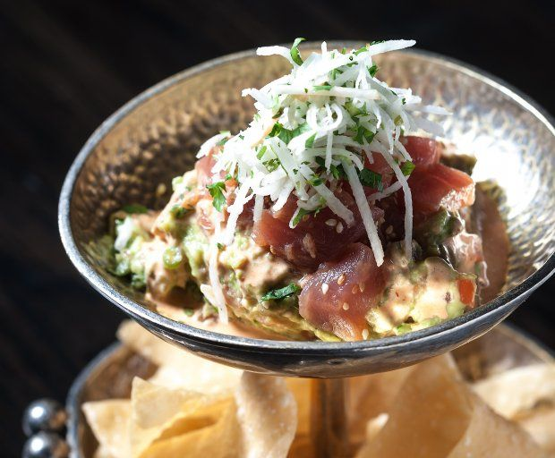 Tuna Tartare Guacamole | Recipes To Try | Pinterest