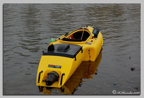 Jet Powered Kayak   Easy to operate