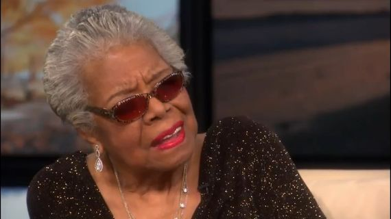 The One Thing Maya Angelou Knows For Sure