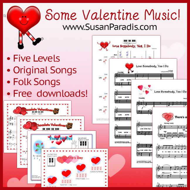 songs with valentine in lyrics
