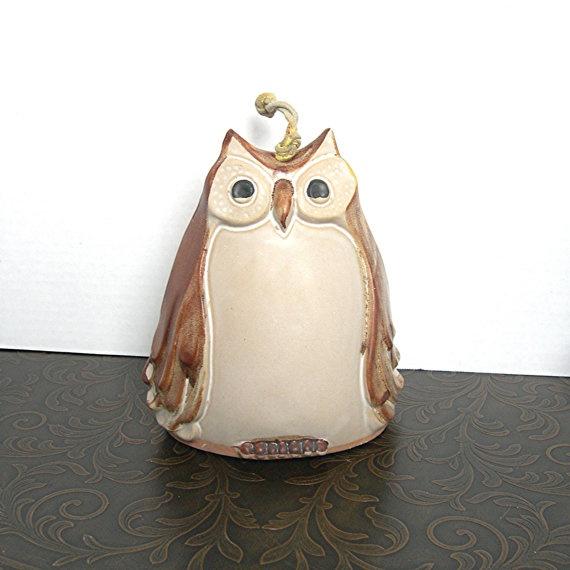 Vintage Owl Windchime #owls