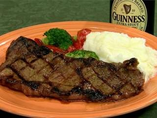 How about a steak marinated with Ireland's favorite beer for St ...