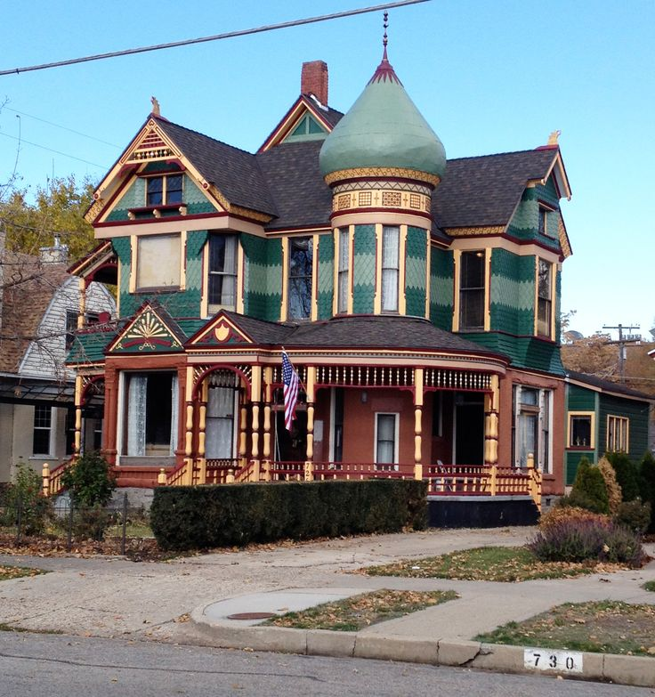 Historic district homes ogden utah victorian exterior for Victorian colonial homes