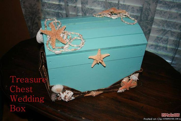 Treasure Chest Wedding Gift Card Box : treasure chest card box Jazzys Quince Pinterest