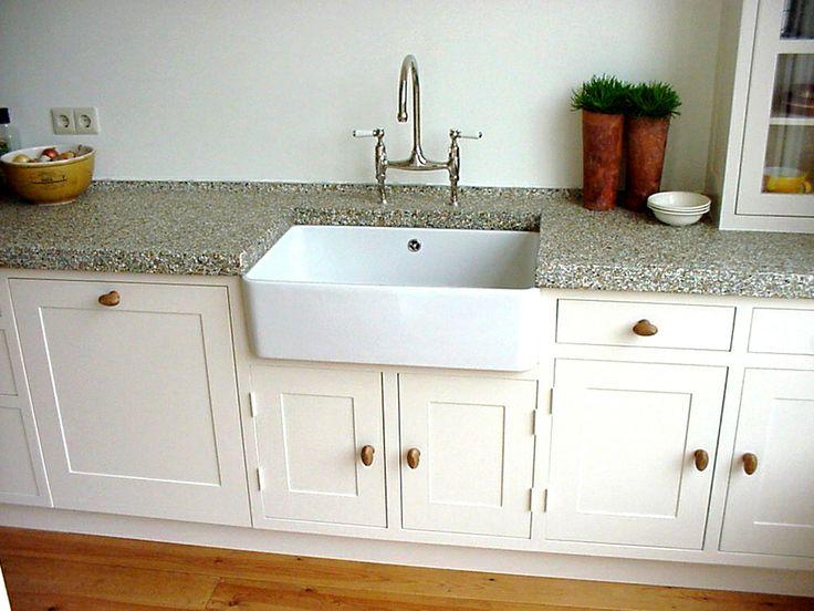 Spoelbak Keuken Wit : Spoelbak Keuken Wit : Handgrepen keuken Keuken blauw wit Pinterest