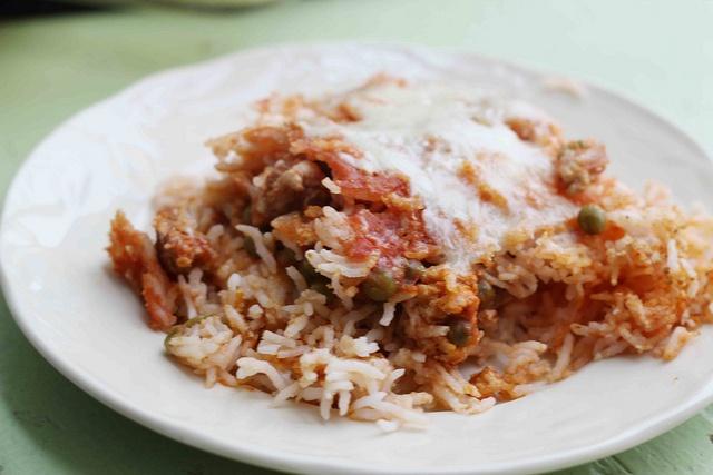 Sicilian Rice Ball Casserole | Weight Watchers | Pinterest