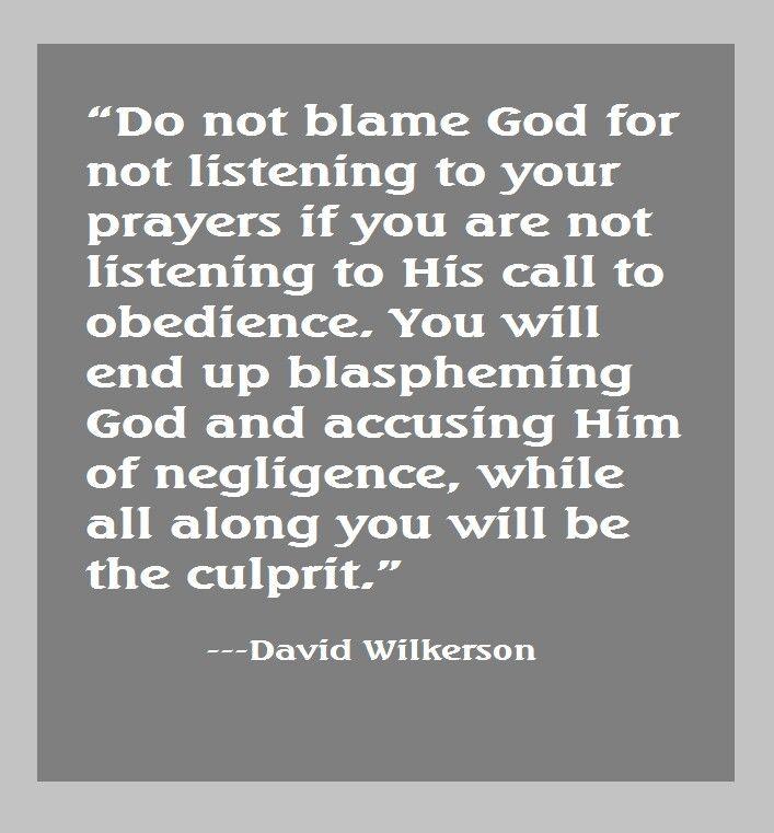 David Wilkerson quote | David Wilkerson Quotes | Pinterest