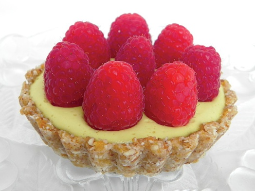 Raspberry Lemon Mousse Tart | Recipe