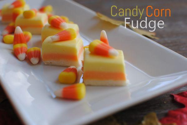 Halloween Main Dishes | Candy Corn Fudge 1 Candy Corn Fudge