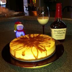 Kim's Eggnog Cheesecake Allrecipes.com
