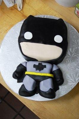 Batman Pop Hero cake!