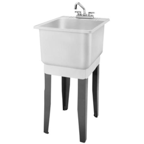 combo laundry tub at menards clean comfortable