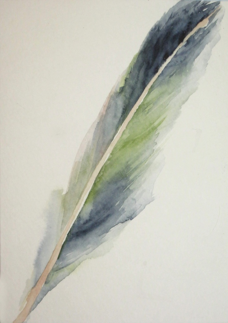 Watercolor Feather Watercolor Feather | A...