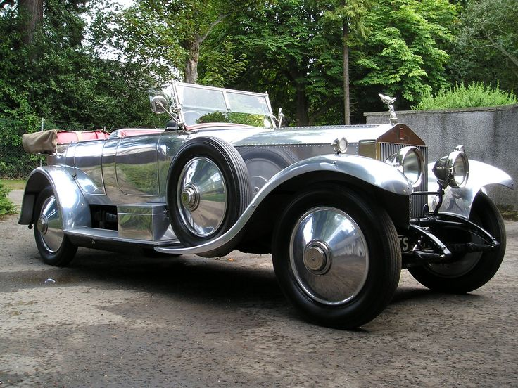 Rolls Royce ~ Silver Ghost...so great