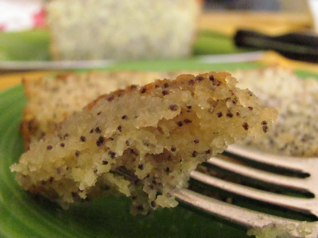 Poppy Seed Cake with Lemon Syrup | Yummy Cakes | Pinterest