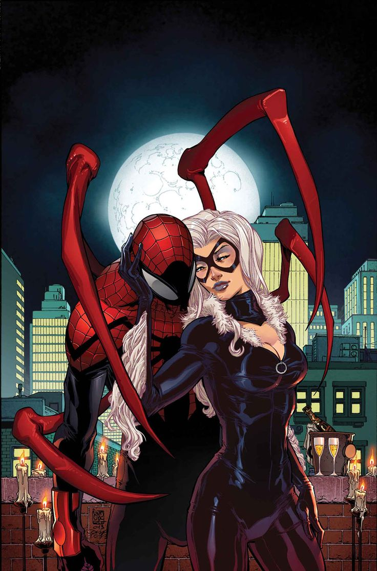 Superior Spider-Man and Black Cat | ♧ Spiderman | Pinterest Spiderman And Blackcat