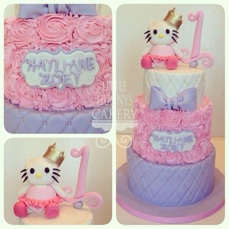 Hello Kitty 1st Birthday Cake Hello Kitty 1st