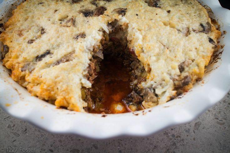 1227 Foster- Beef and Cauliflower Pie 5 | Paleo - Dinner | Pinterest