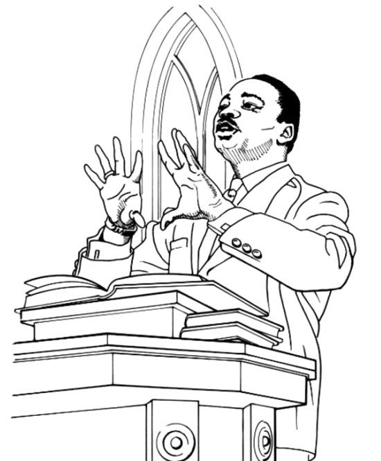 28+ Dr Martin Luther King Coloring Pages | Dr Martin Luther King ...
