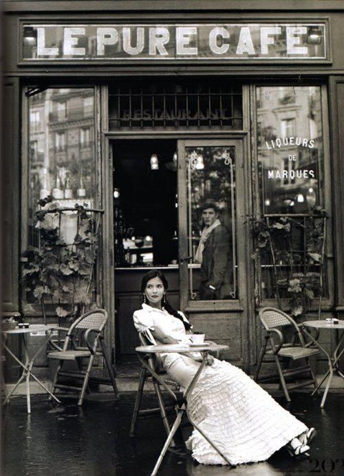 by Rodney Smith - Love period pieces - this gives that feel with the black and white photo - also the feel of Europe and far away places and a far away time.
