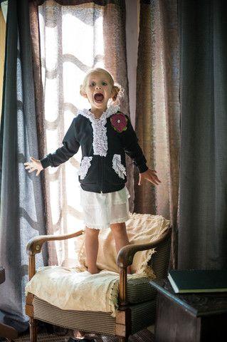 If I had a little girl...The Mini Pink Polka Dot Brilla – evy's tree