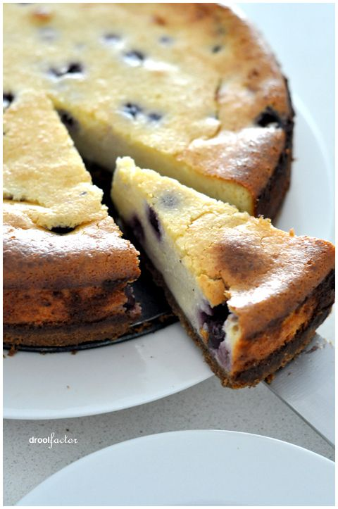 Baked Blueberry Cheesecake | Favorite Recipes | Pinterest